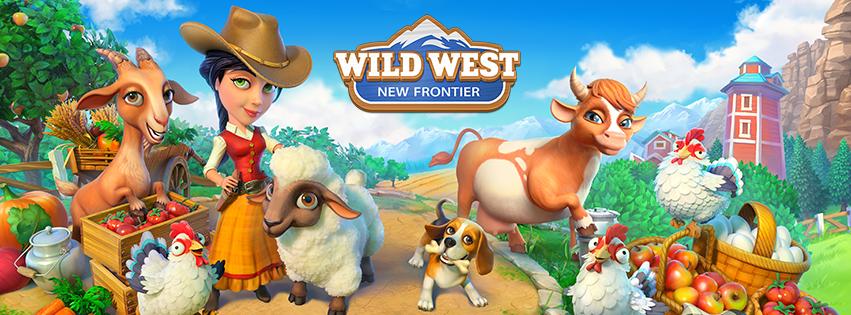 Wild West: New Frontier - Spielelogo Deutsch