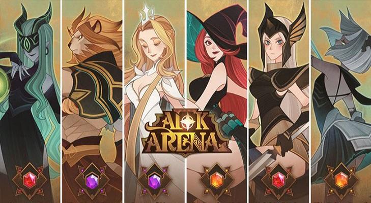 AFK Arena - Sie können dieses Spiel auf Ihrem Smartphone oder Tablet spielen