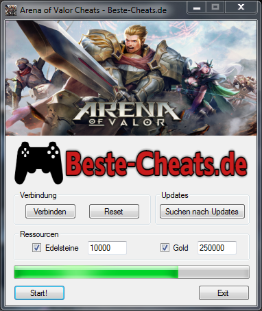 arena of valor cheats - edelsteine und gold