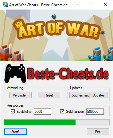 Art of War Legions Cheats - Edelsteine und Goldmünzen