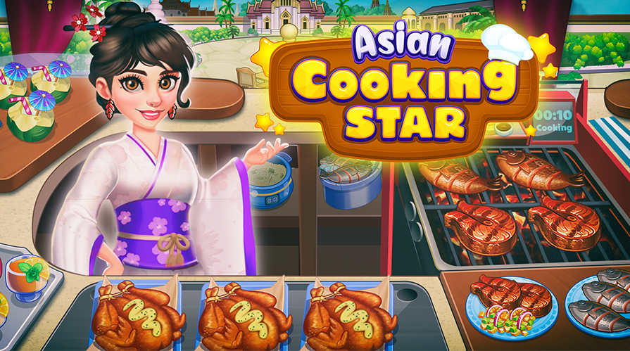 Asian Cooking Star - Neue Handyspiel