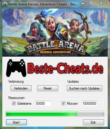 battle arena heroes adventure cheats edelsteine