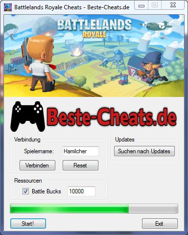 Battlelands Royale Cheats - Battle Bucks bekommen
