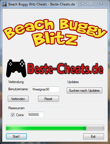 Beach Buggy Blitz - Cheats Münzen