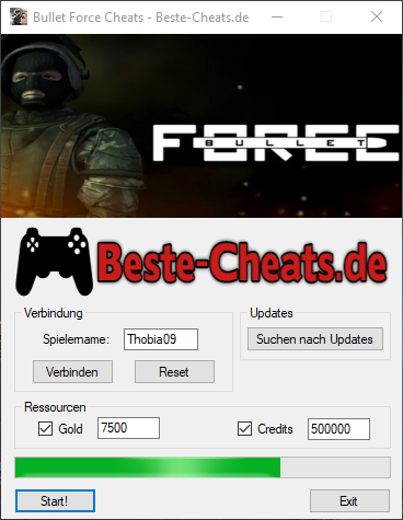 bullet force cheats - gold und credits