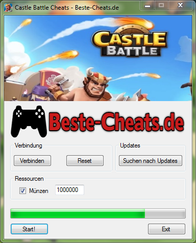 Castle Battle Cheats - Münzen