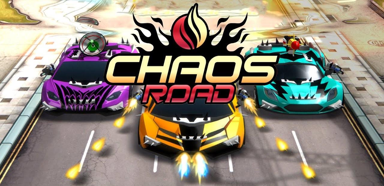 Chaos Road ist eine Kombination aus Renn- und Schießspiel