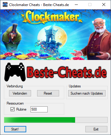 clockmaker cheats - rubine
