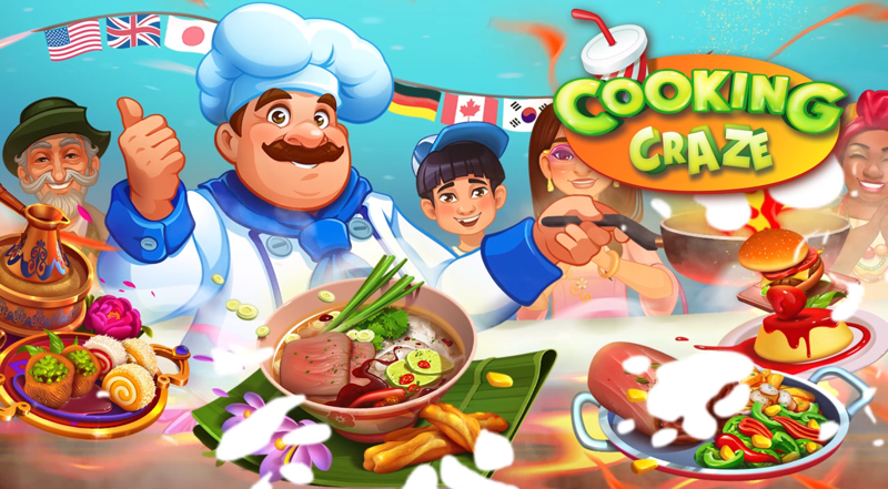 Cooking Craze - Koch-Handyspiel