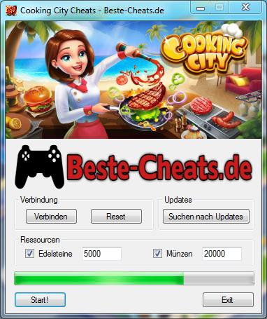 Cooking City Cheats - Edelsteine und Münzen