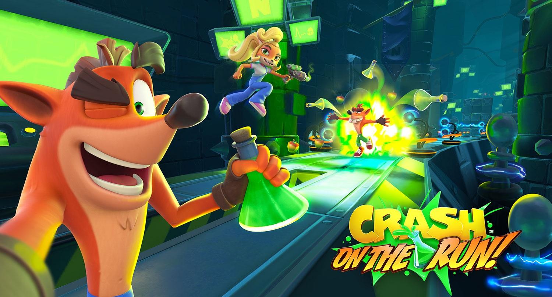 Crash Bandicoot On the Run ist ein actionreiches Handyspiel