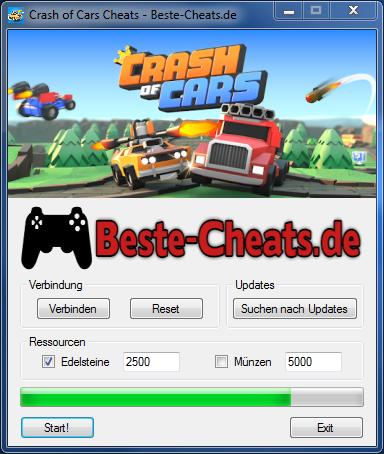 crash of cars cheats