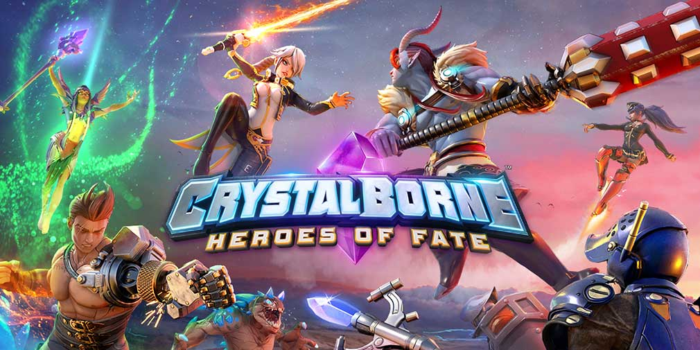 Crystalborne Heroes of Fate - Logo