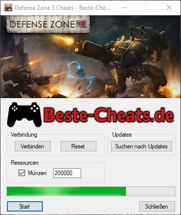 Defense Zone 3 Cheats - Münzen