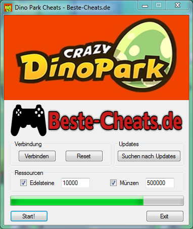 crazy dino park cheats