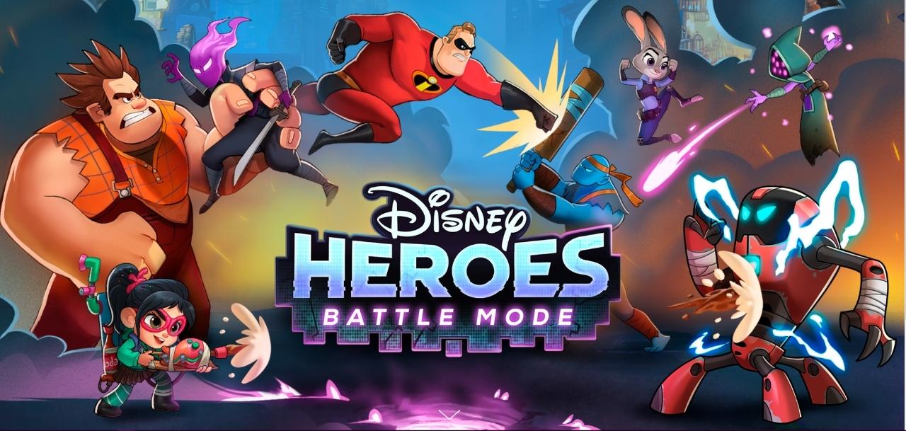 Disney Heroes Battle Mode - Spielen Sie mit Ihren Lieblingssuperhelden
