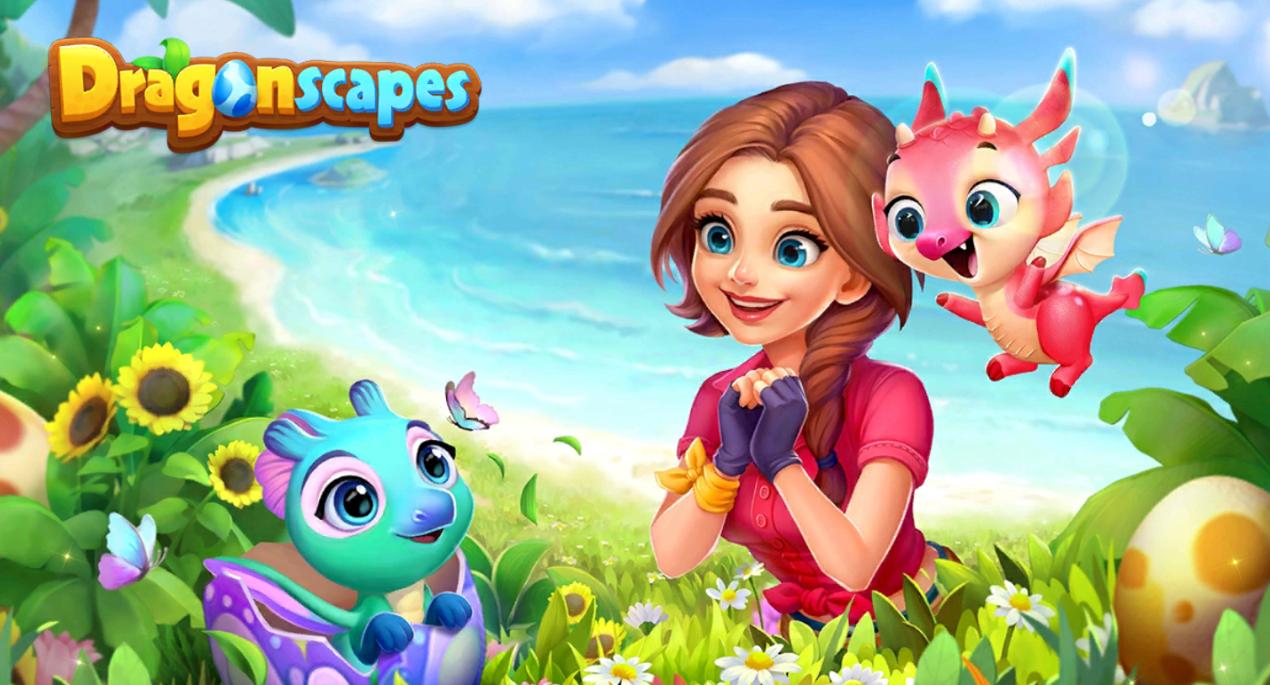 Dragonscapes Adventure - Spielelogo