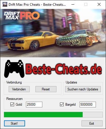 Drift Max Pro Cheats - Sie können zu Ihrem Spiel Gold und Bargeld hinzufügen