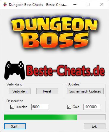 Dungeon Boss Cheats - Juwelen und Gold