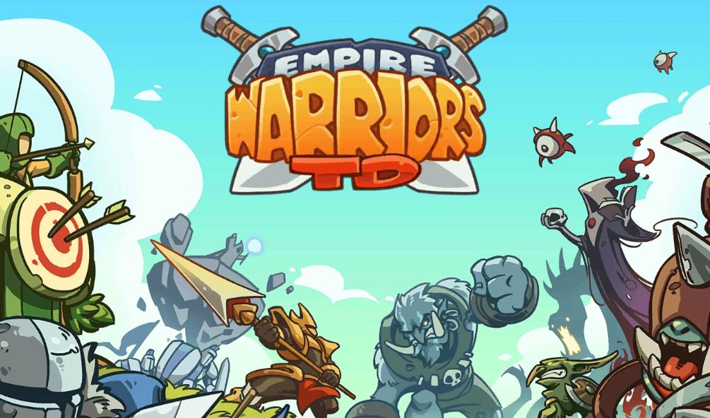 Empire Warriors Tower Defense ist ein Strategiespiel für mobile Geräte.