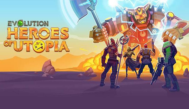 Evolution Heroes of Utopia Logo