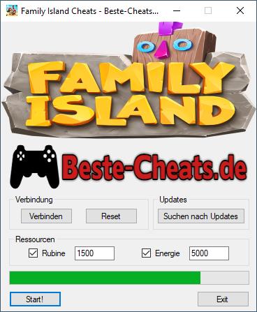 Family Island Cheats - Rubine und Energie
