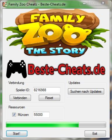 Family Zoo The Story Cheats - unendlich Münzen