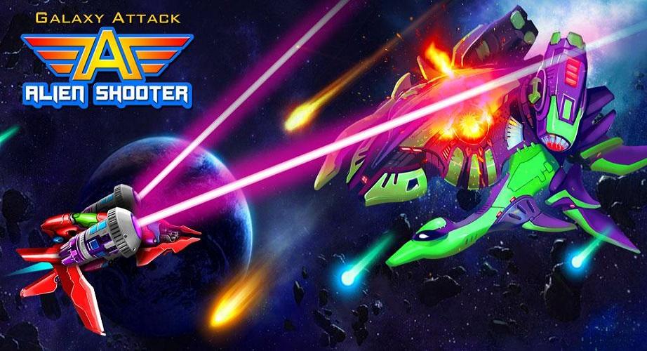 Galaxy Attack Alien Shooter - eines der beliebtesten mobilen Arcade-Spiele