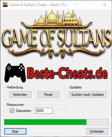 Game of Sultans Cheats - Unendlich Diamanten