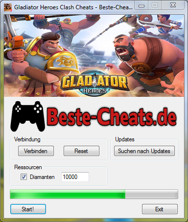 gladiator heroes clash cheats diamanten