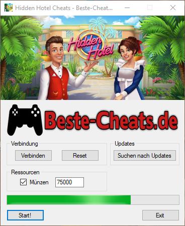 Mit Hidden Hotel Cheats können Sie zu Ihrem Spiel unendlich Münzen hinzufügen