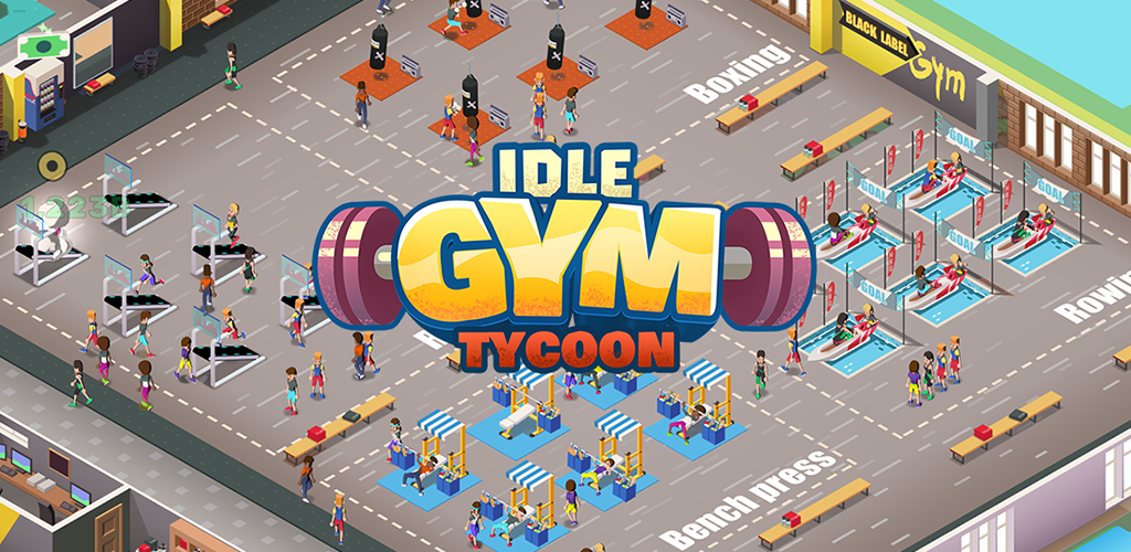 IDLE Fitness Gym Tycoon - Handyspiel