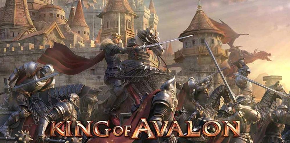 Logo des Handyspiels King of Avalon - deutsche Version