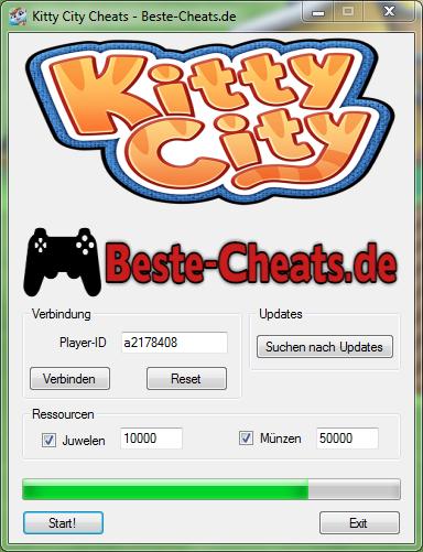 Kitty City Cheats - Juwelen und Münzen