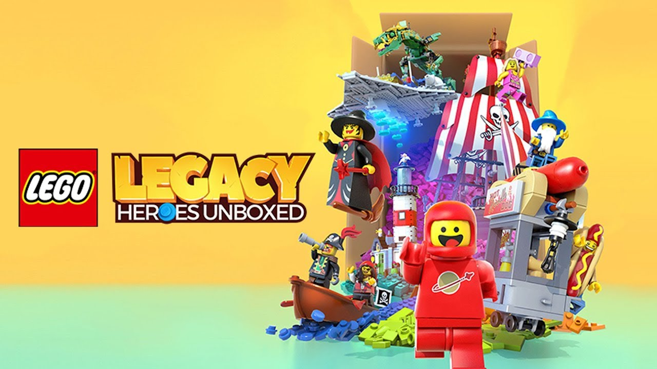 LEGO Legacy Heroes Unboxed - Spiel Logo