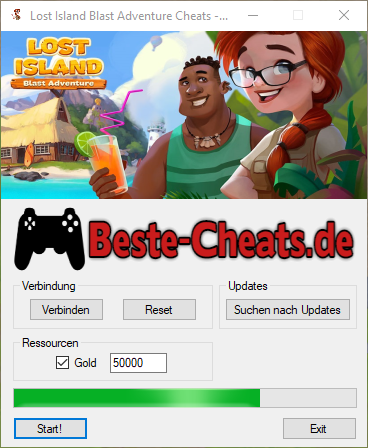 Lost Island Blast Adventure Gold Cheats (Deutsch)