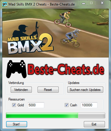 Mad Skills BMX 2 Cheats - Gold und Cash
