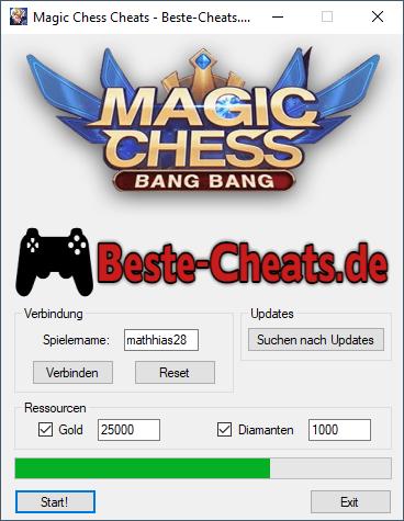 magic chess cheats diamanten und gold