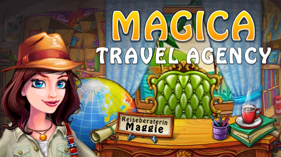 Puzzle-Handyspiel - Magica Travel Agency
