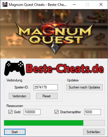 Mit Magnum Quest Cheats unendlich Gold und Drachensplitter bekommen