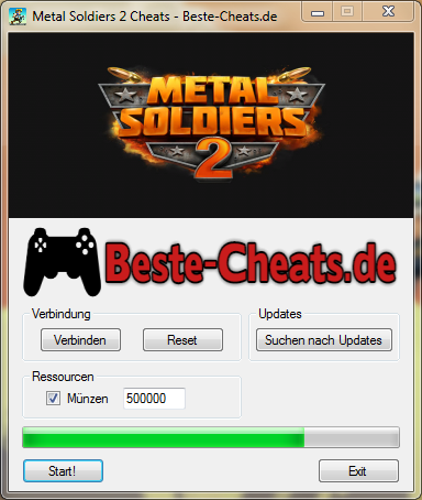 metal soldiers 2 cheats