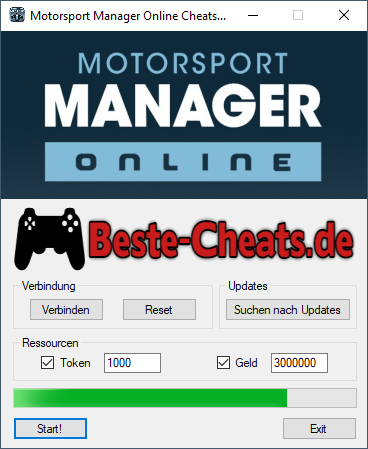 Motorsport Manager Online Cheats - Token und Geld