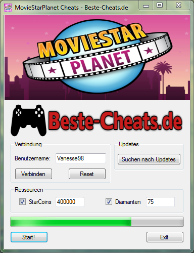 MovieStarPlanet Cheats - Diamanten und StarCoins bekommen