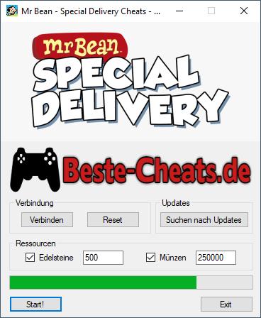 Mr Bean Special Delivery Cheats - Edelsteine und Münzen