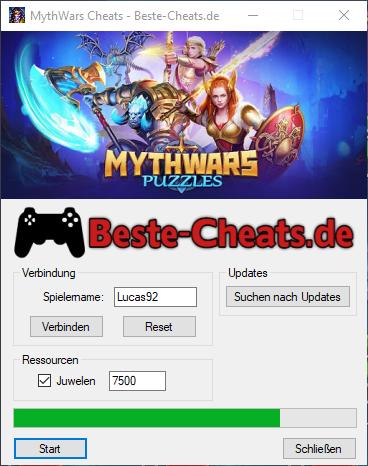 Spieler können MythWars Cheats verwenden, um mehr Juwelen zu erhalten