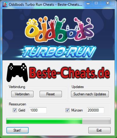 oddbods turbo run cheats