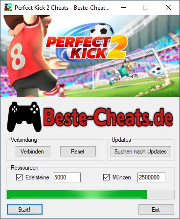 Perfect Kick 2 Cheats - Edelsteine und Münzen bekommen