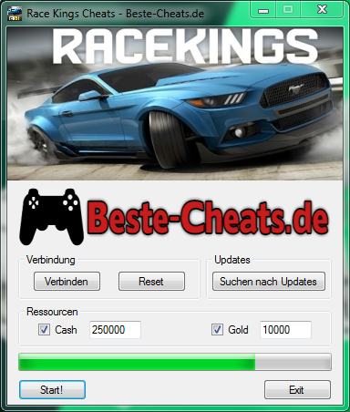 race kings cheats