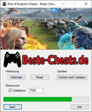 Rise of Empires Cheats - Edelsteine
