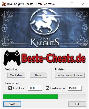rival knights cheats edelsteine und goldmünzen